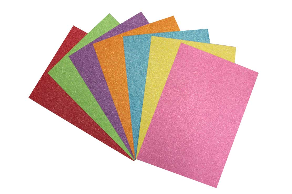 Iridescent Glitter Paper & Cardboard
